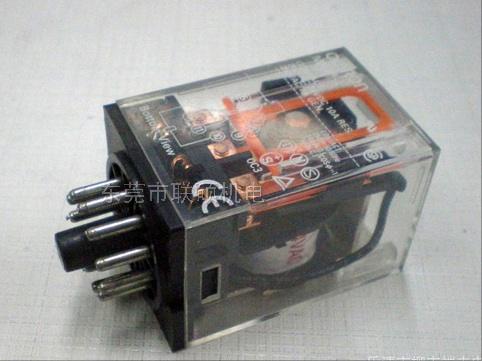 欧姆龙中间继电器,指针式电流电压表,tend天得按钮-联